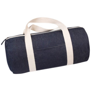 sac polochon en denim recyclé
